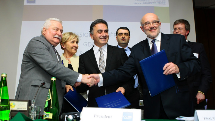 Uroczyste otwarcie 123 Sesji Plenarnej Rady Adwokatur i Stowarzyszeń Prawniczych Europy CCBE