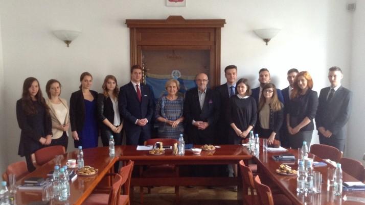 Liderzy ELSA POLAND w siedzibie Krajowej Rady Radców Prawnych