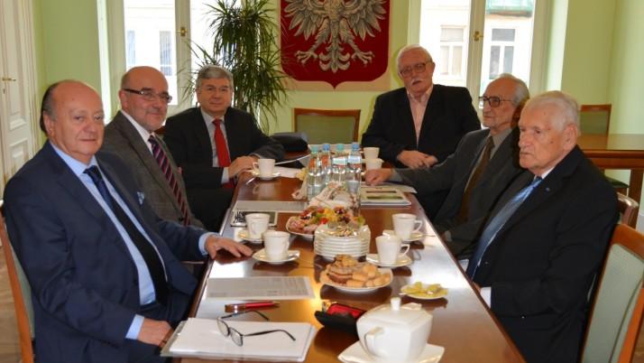 Spotkanie prezesów Krajowej Rady Radców Prawnych