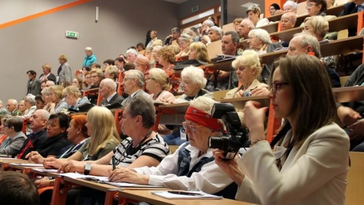 """Radcowie na V Kongresie """"Obywatel Senior"""" w Chorzowie"""