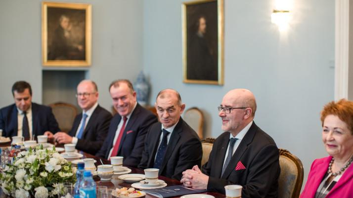 Prezydent Rzeczypospolitej przyjął delegacje KRRP i NRA