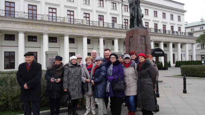 Seniorzy  znowu  w Warszawie