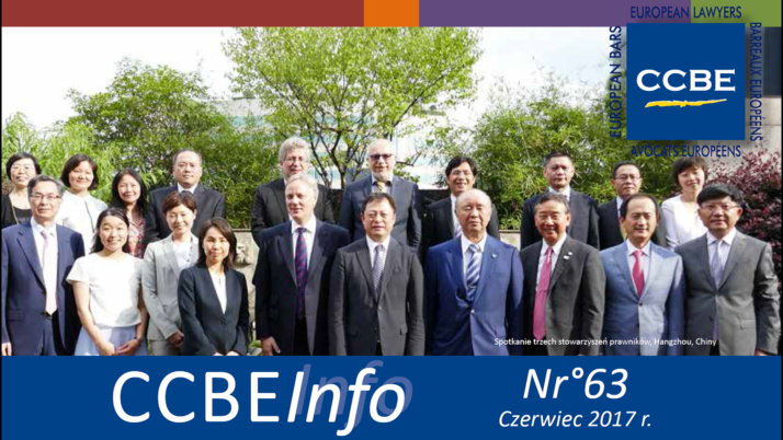 Newsletter CCBE 63