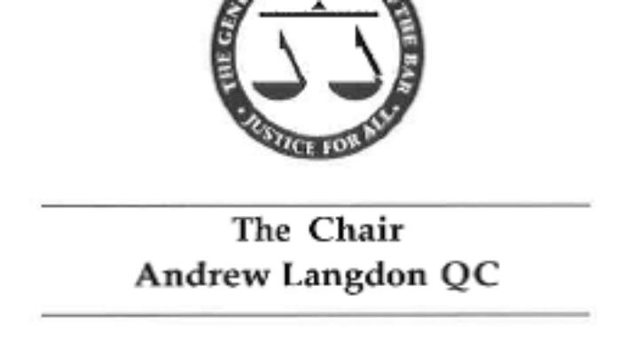 List Przewodniczącego Rady Adwokackiej Anglii i Walii do Prezydenta RP