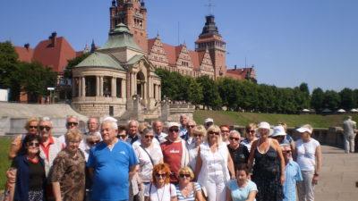 Seniorzy nad morzem