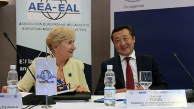 Konferencja Europejskiego Stowarzyszenia Prawników AEA-EAL w Kazachstanie