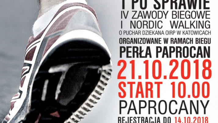 Zawody Biegowe i Nordic Walking w ramach XXX Perły Paprocan
