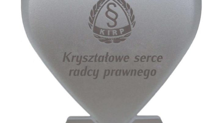 Konkurs Kryształowe Serce Radcy Prawnego 2018