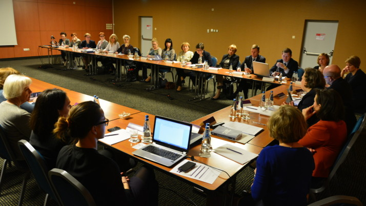 Spotkanie sekretarzy i szefów biur rad OIRP