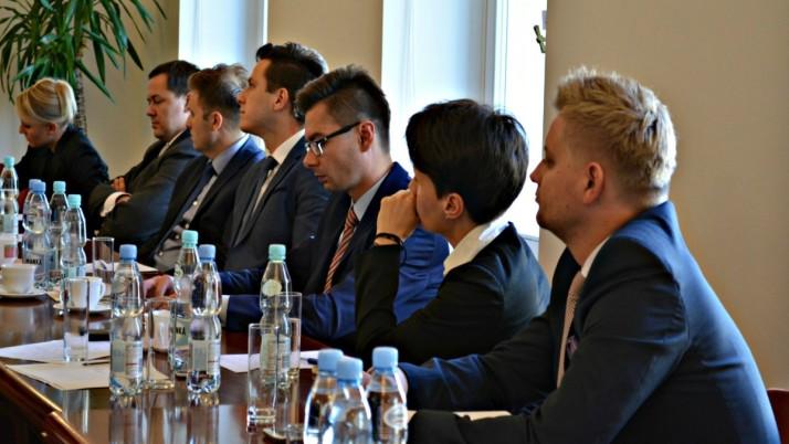 Spotkanie z młodymi radcami prawnymi
