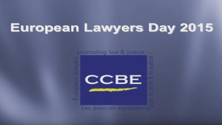 Europejski Dzień Prawnika 2015: przesłanie Prezydent CCBE