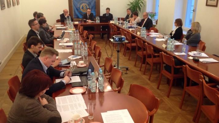 Posiedzenie Porozumienia samorządów zawodowych istowarzyszeń prawniczych