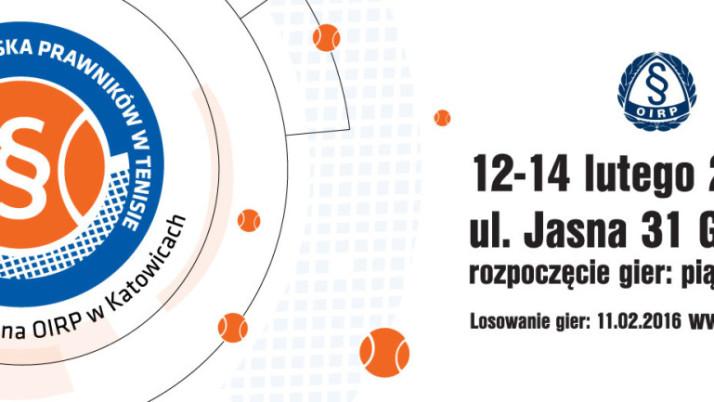 III Mistrzostwa Śląska Prawników w Tenisie 12-14 lutego 2016 r.