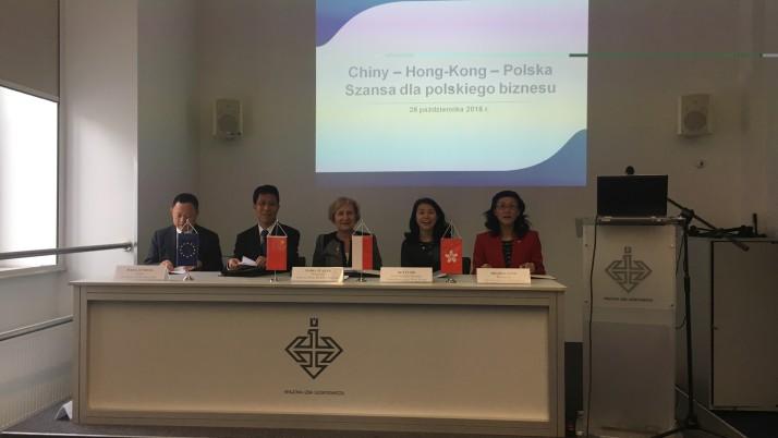 Porozumienia naszego samorządu o współpracy z Chinami i Hong Kongiem podpisane w obecności ambasadora CHRL