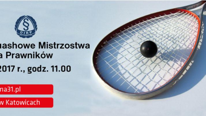 IV Squashowe Mistrzostwa Śląska Prawników