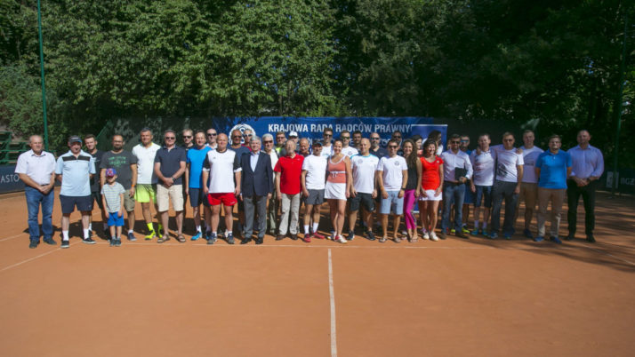 Rozpoczęły się XVII Ogólnopolskie Mistrzostwa Radców Prawnych i Aplikantów w Tenisie