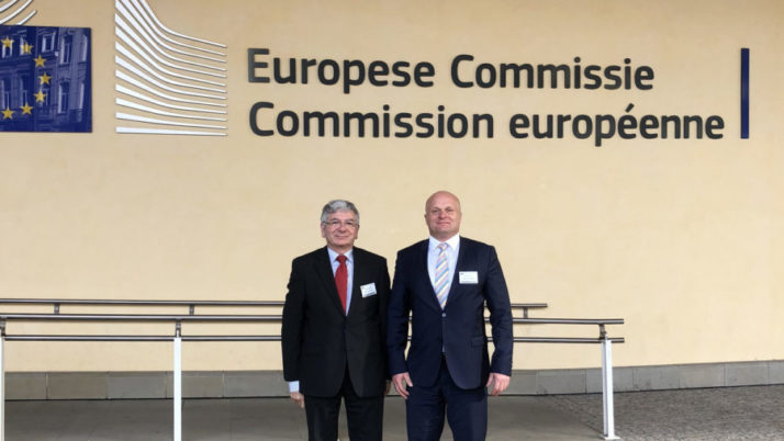 Prezes i Wiceprezes KRRP w Brukseli