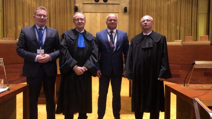 Przedstawiciele KIRP na rozprawie w Trybunale Sprawiedliwości UE w Luksemburgu