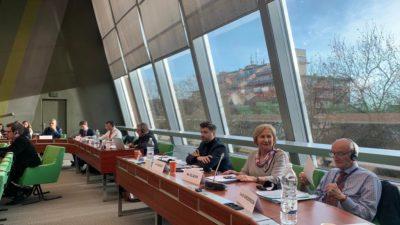 PosiedzenieKomisji d/s Prawnych i Praw Człowieka Rady Europy (CoE) w sprawie zasad i gwarancji dla prawników (adwokatów, radców prawnych)