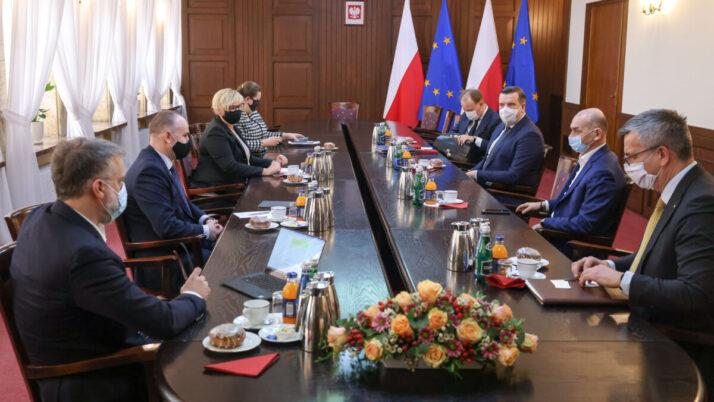 Samorząd radcowski dyskutuje ozmianach wprocedurach wKancelarii Prezydenta RP