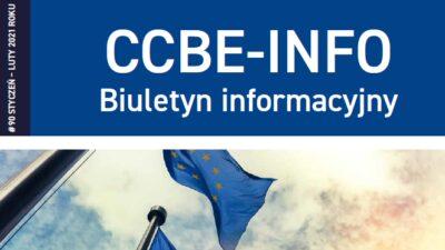 Biuletyn CCBE wjęzyku polskim – maj-czerwiec 2021