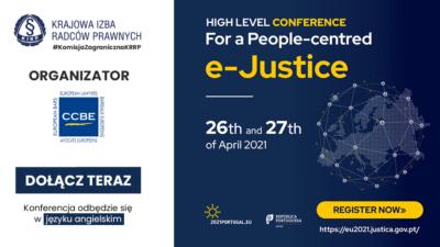 Portugalska prezydencja wRadzie UE organizuje konferencję online nt.e-sprawiedliwości
