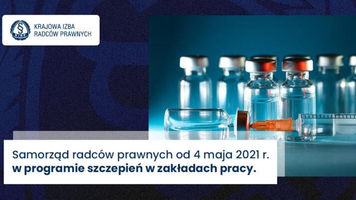 Program szczepień dla samorządów zawodowych