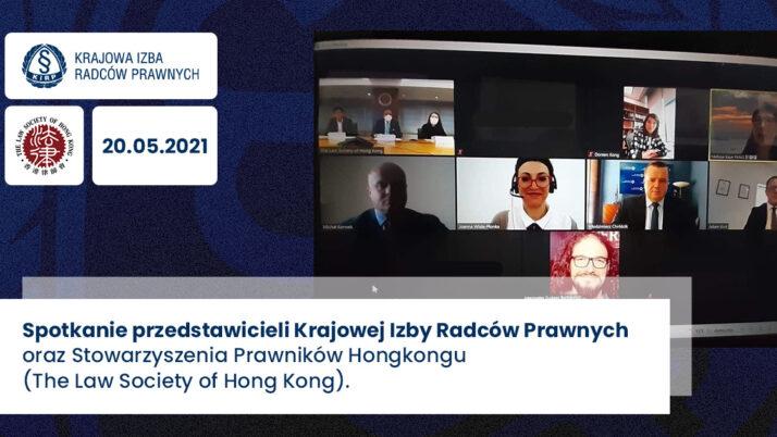 Współpraca zeStowarzyszeniem Prawników Hongkongu