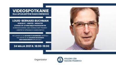 Prawnik jako doradca wzakresie biznesu ipraw człowieka  – pierwsze wideospotkanie dla aplikantów radcowskich