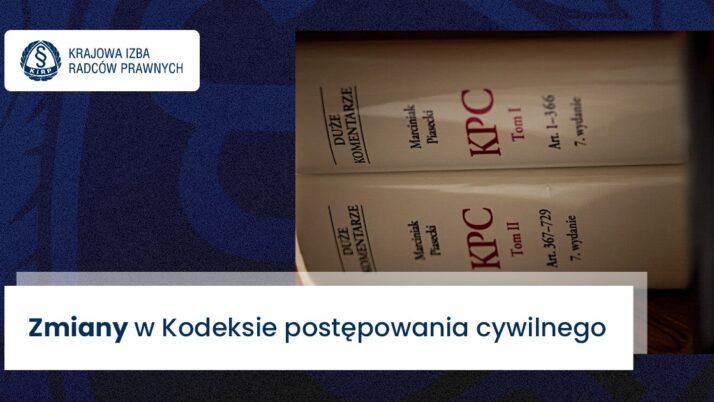 Zmiany wkpc – Sejm podjął decyzję