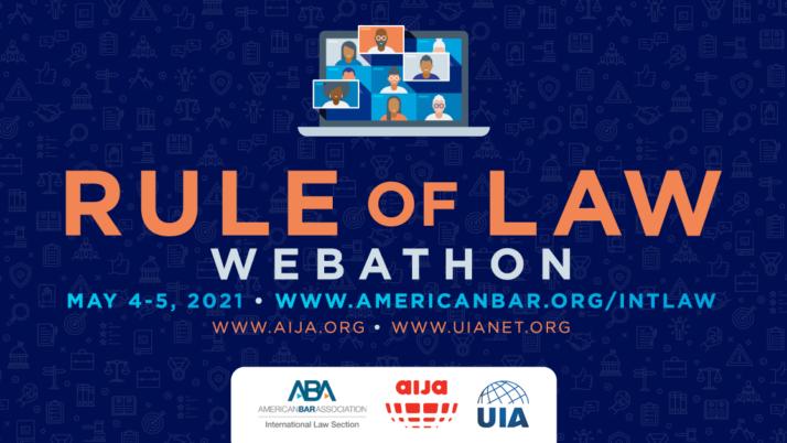 """Międzynarodowy """"Webathon"""" wobronie praworządności, 4-5 maja 2021 r."""