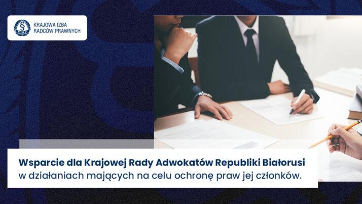 List Prezesa KRRP dobiałoruskich prawników