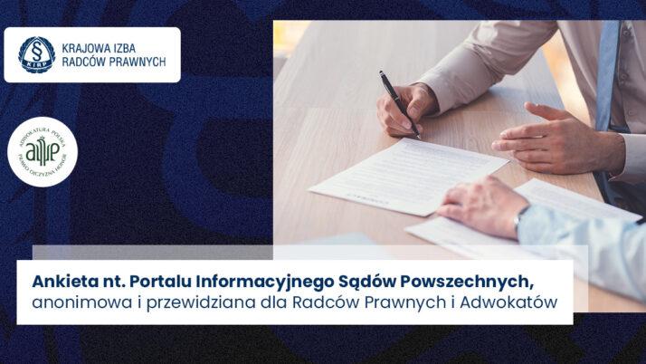 Portal Informacyjny Sądów Powszechnych – ankieta