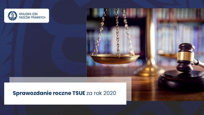 Sprawozdanie roczne TSUE zarok 2020
