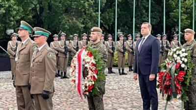 77. rocznica wybuchu Powstania Warszawskiego – udział Prezesa KRRP wuroczystości składania wieńców