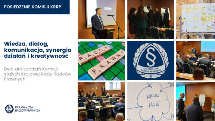 Wiedza, dialog, synergia działań, komunikacja ikreatywność – dwudniowe stacjonarne spotkanie komisji stałych KRRP