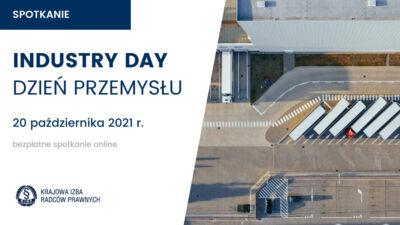 Industry Day (Dzień Przemysłu) – 20 października 2021 r.