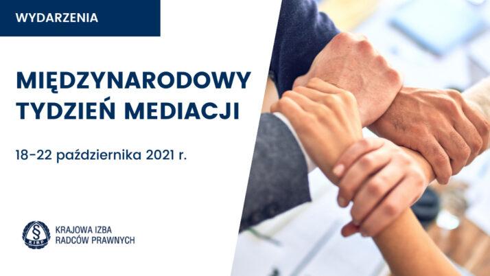 Międzynarodowy Tydzień Mediacji